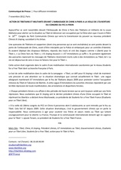 communique action pour le tibet a paris 7 novembre 2012