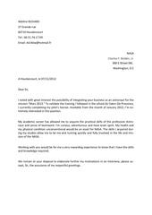lettre de motivation adeline anglais