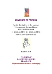 plaquette lsf 2010