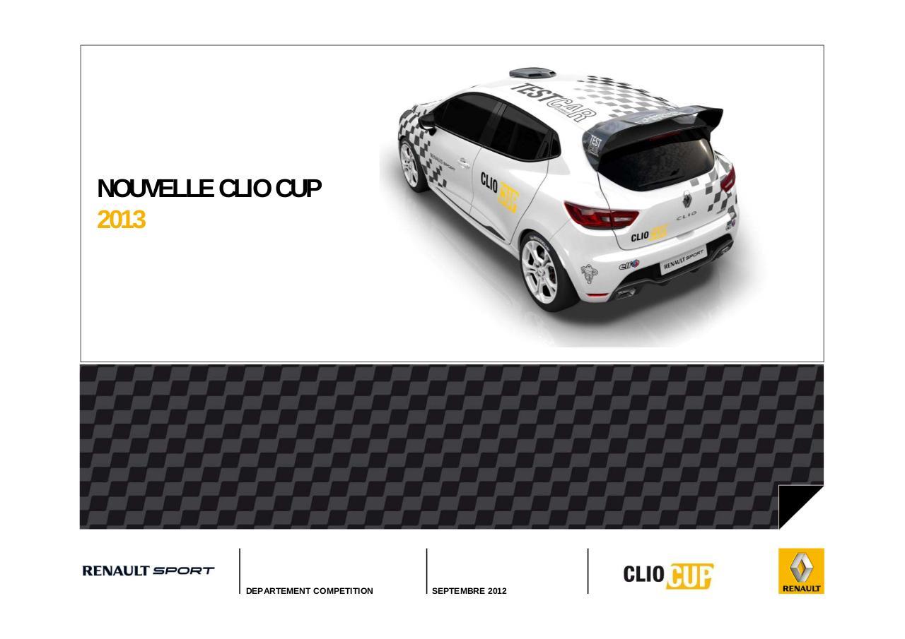 Renault Clio IV Restyl e - Couleurs / Colors