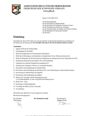 convocation ad 2012