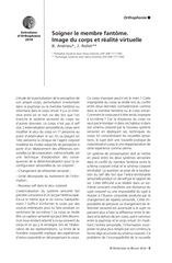 Fichier PDF soigner le membre fantome image du corps et realite virtuelle