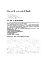 chapitre 10 l economie dechaenee