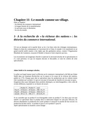 chapitre 11 le monde comme un village