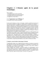 chapitre 2 l histoire agitee de la pensee