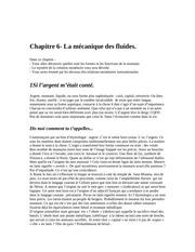 chapitre 6 la mecanique des fluides