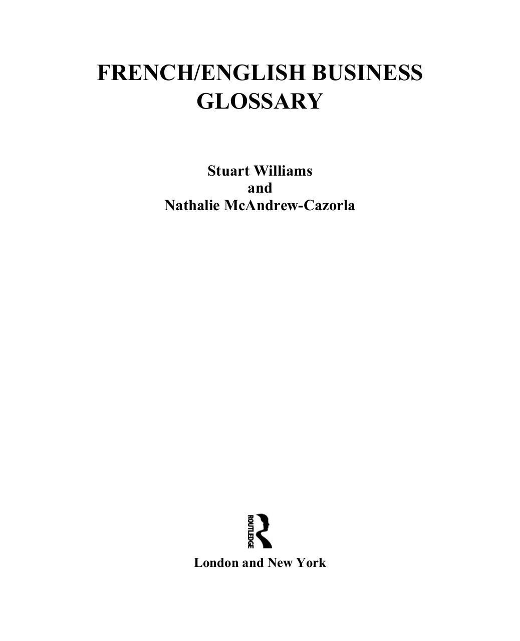 French ENGLISH FOR Business.pdf - page 4/127