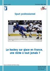 le hockey sur glace une niche a tout jamais