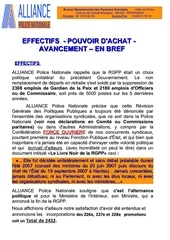 effectifs pouvoir d achat avancement alliance pn cfe cgc du 13 11 2012