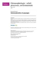 Fichier PDF geomorphologie 338 3 2005 geomorphosites et paysages