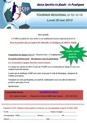 invitation tournoi u12u13