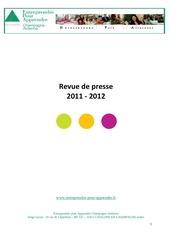 revue de presse 2011 2012