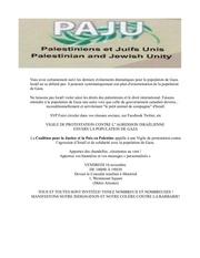 tract de vigile du 16 novembre 2012 devant le consulat israelien