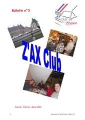 Fichier PDF z ax club n 3