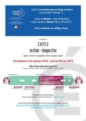 aff capes 2014 vd