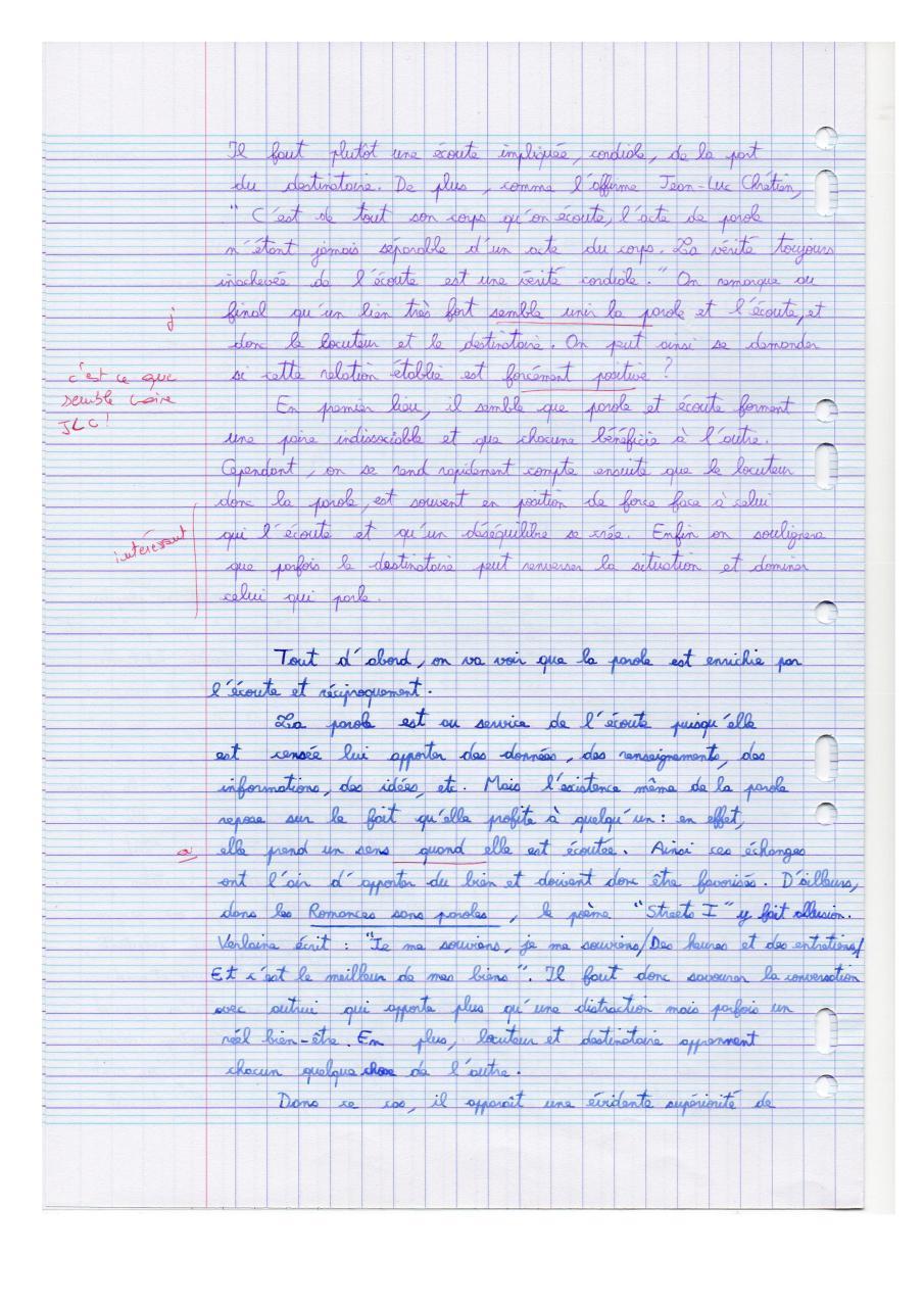 Méthode de la dissertation - Cours - Fiches de révision