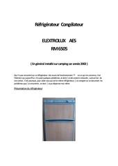 1 tout sur le domotic electrolux rm6505