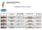 2013 programme activites 1