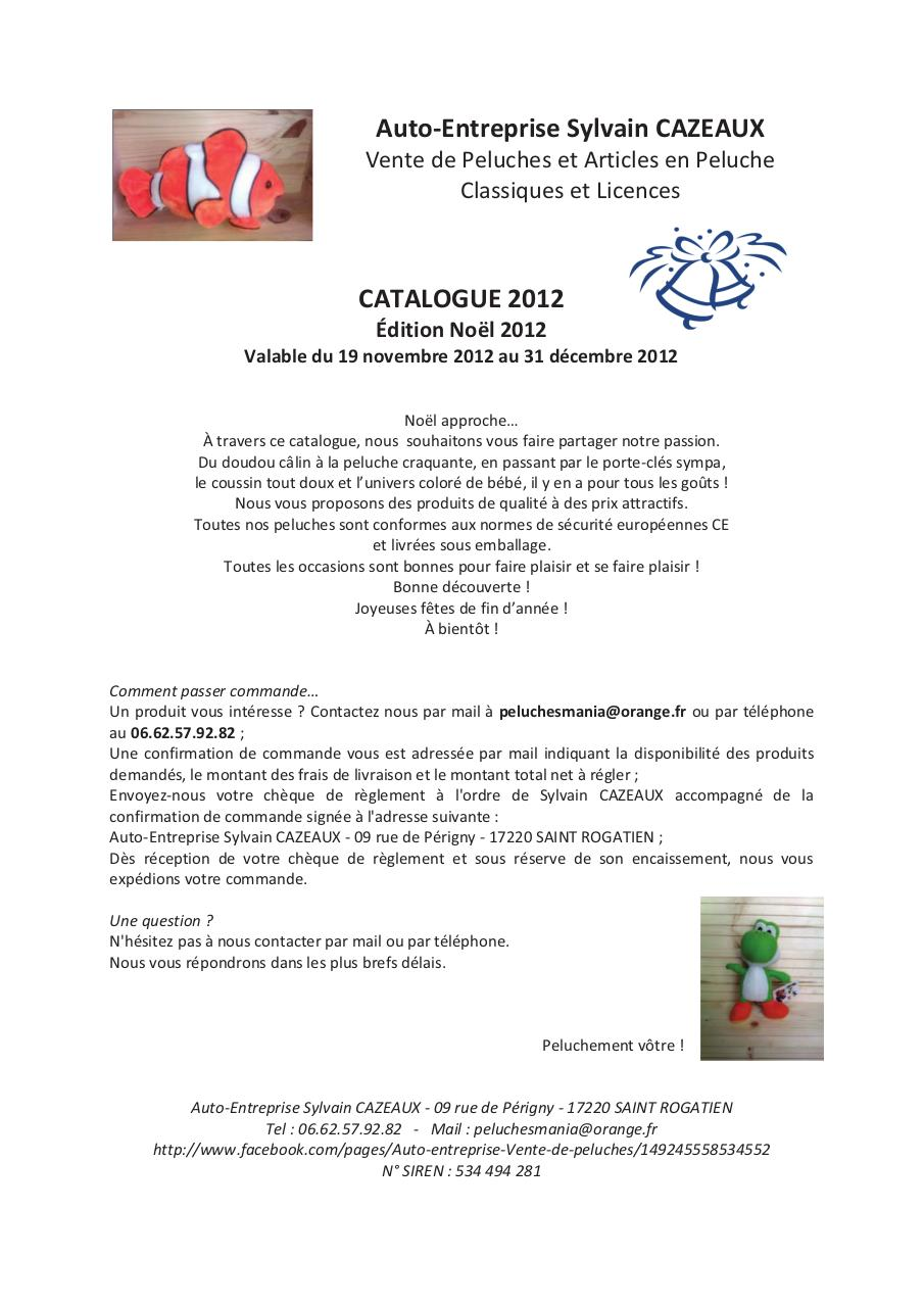 AE - Catalogue 2012 Edition Noël 2012.pdf - page 1/44