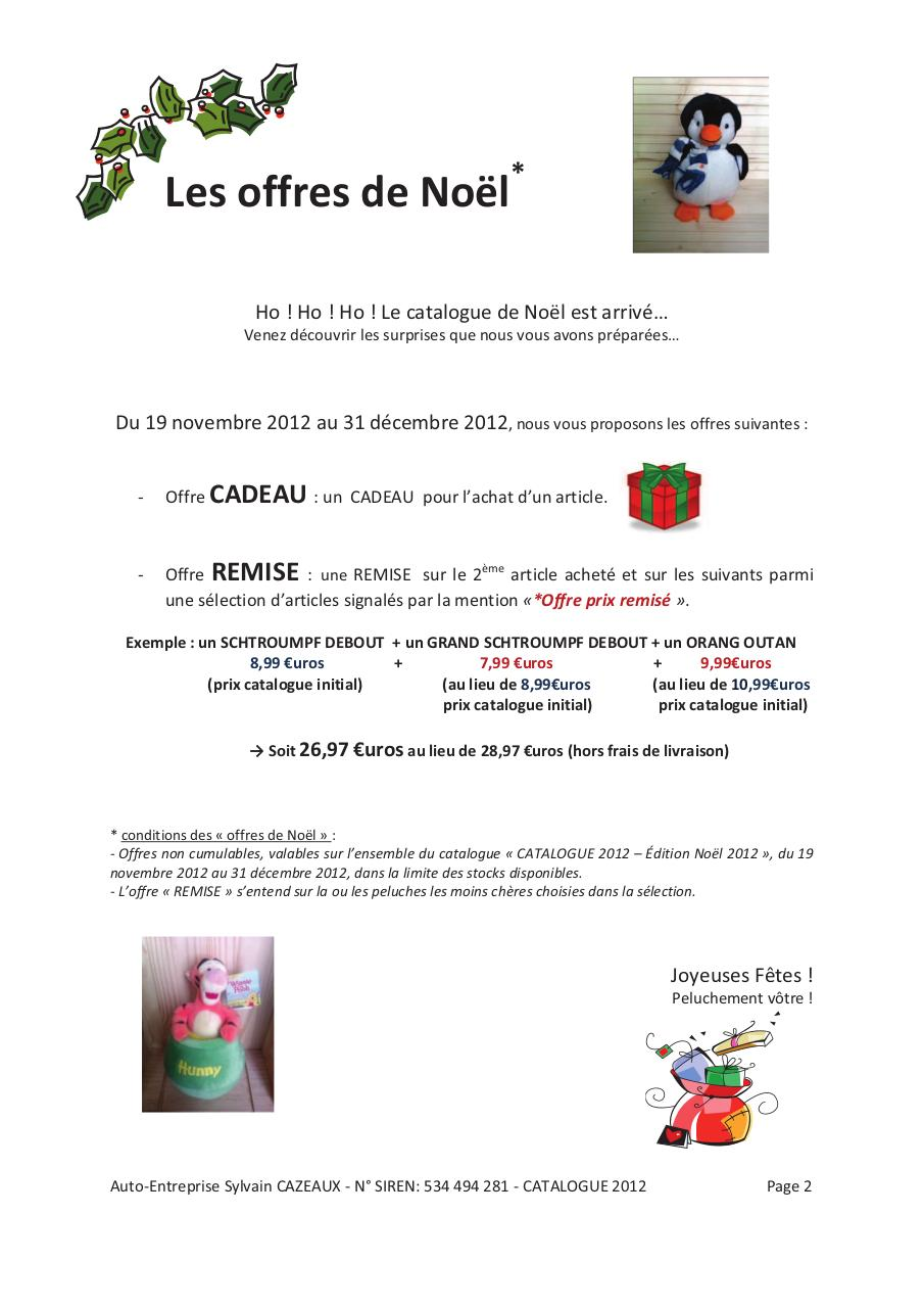 AE - Catalogue 2012 Edition Noël 2012.pdf - page 2/44