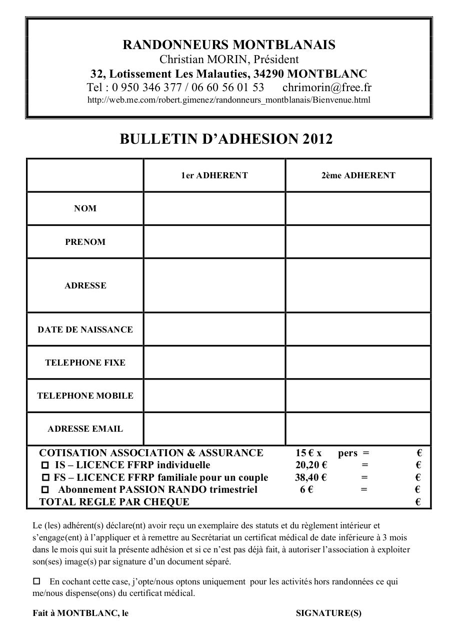 Aperçu du document BULLETIN D'ADHESION 2012.pdf - page 1/1