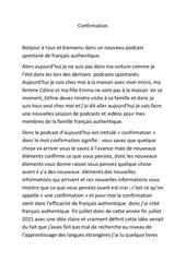 Fichier PDF confirmation