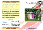 recyclatelier depliant kit de tri