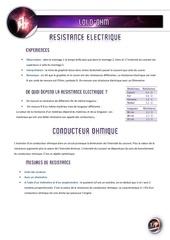 01 resistance electrique