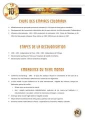 10 la decolonisation