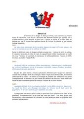 Fichier PDF drogue