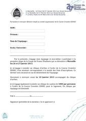 formulaire inscription cfe marseille 26 et 27 janvier