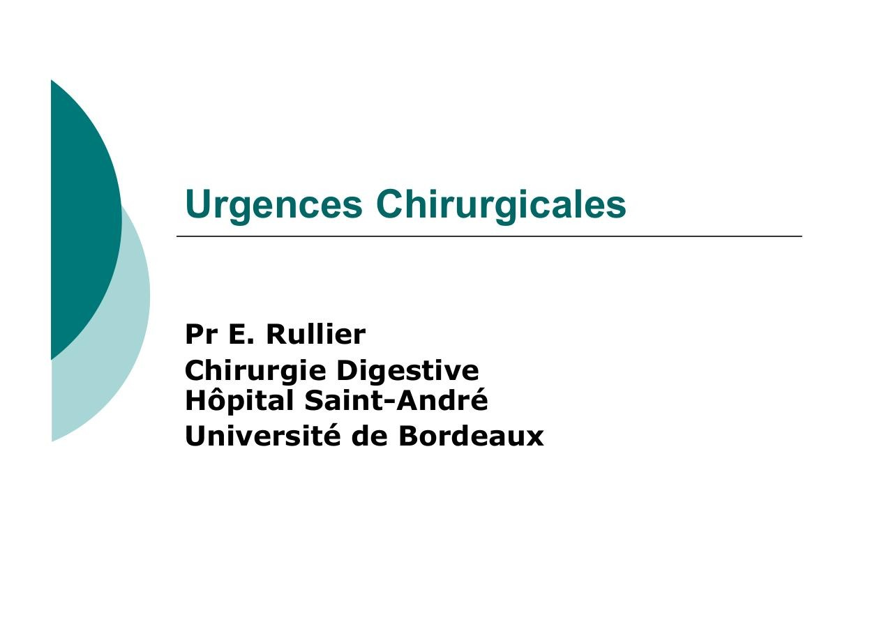 Urgences Chirurgicales.pdf - page 1/62