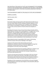 declaration kampala
