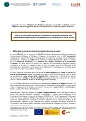 Fichier PDF plan de travail sectoriel cote d ivoire