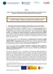 plan de travail sectoriel maroc