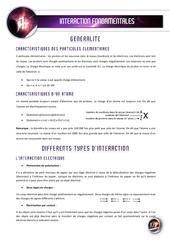 01 les interactions fondamentales