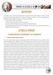 03 la france et les francais de la fin du 19eme