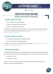 05 les reactions acido basique