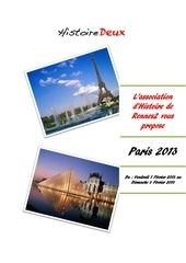 projet paris 2013 2