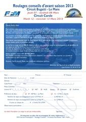 Fichier PDF bulletin d inscription 2013