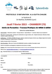 soiree de formation prodentalpes 7 fevrier chambery