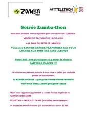 soiree zumba thon