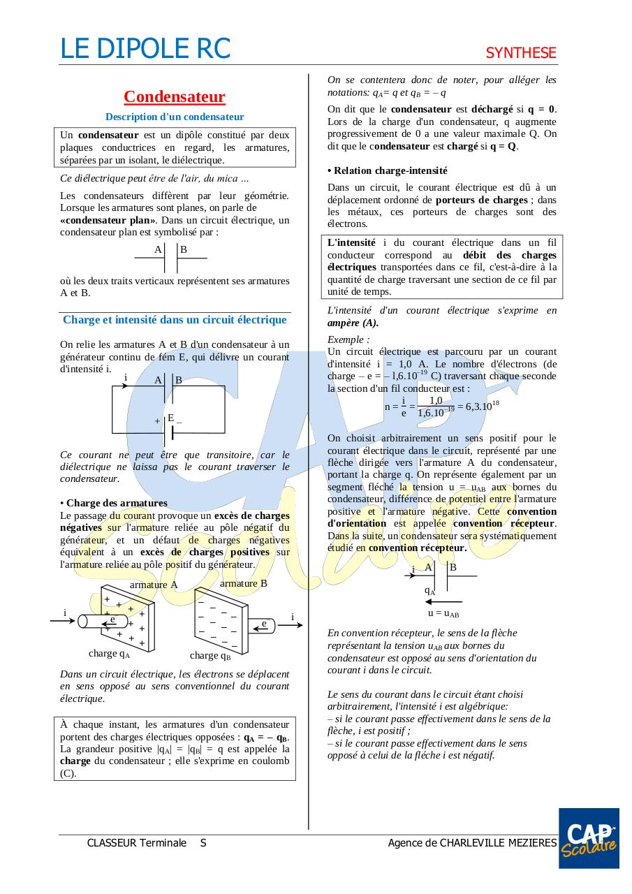 DIPOLE RC - cours.pdf - page 1/3