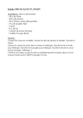 Fichier PDF recette cake
