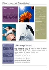 dossier hydratation