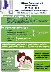 Fichier PDF flyer enfant