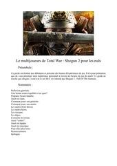 le multi shogun pour les nul v 1 0
