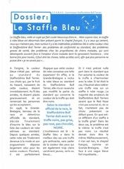 Fichier PDF le staffie bleu