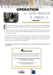 Fichier PDF 1000 radios