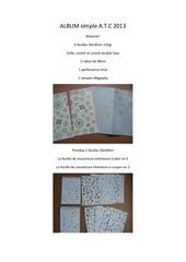 Fichier PDF album simple a